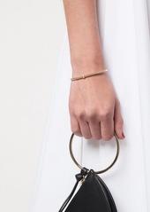 David Yurman 18kt yellow gold Renaissance Center Station diamond 3mm bracelet