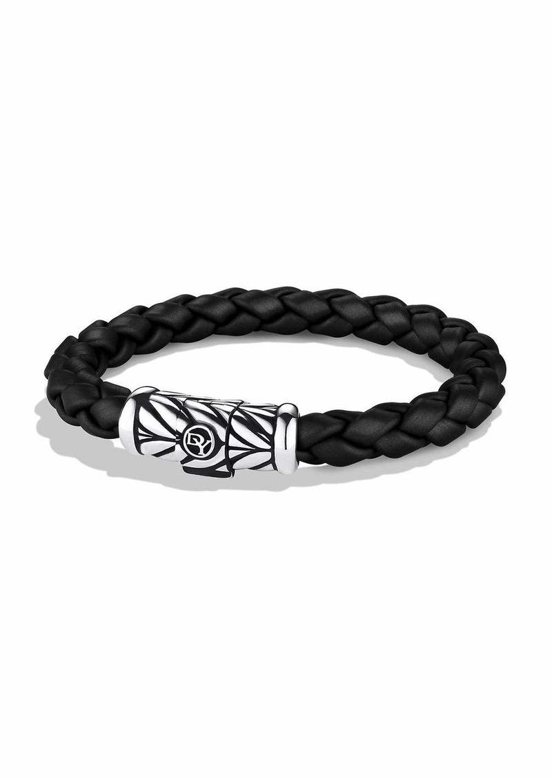 David Yurman Chevron Bracelet in Black