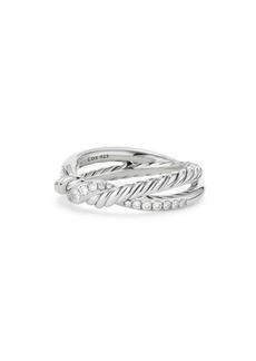 David Yurman Continuance Diamond Twist Ring