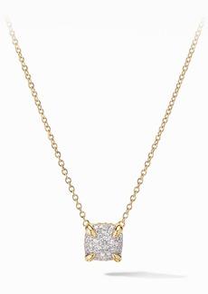 David Yurman Chatelaine® Pendant Necklace in 18K Gold & Pavé Diamonds