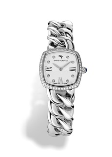 David Yurman 'Albion' 23mm Stainless Steel Quartz Watch with Diamonds