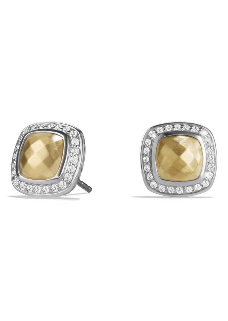 22ec1627f5a28 David Yurman David Yurman  Albion  Earrings with 18K Gold Dome and ...