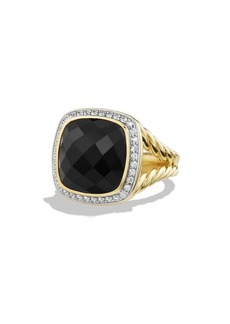 David Yurman 'Albion' Ring with Diamonds in 18k Gold