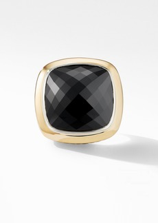David Yurman Albion® Statement Ring with 18K Gold and Champagne Citrine
