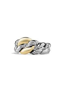 David Yurman 'Belmont' Link Ring with 18K Gold