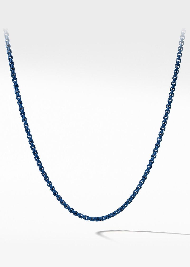 David Yurman Box Chain Necklace, 4mm