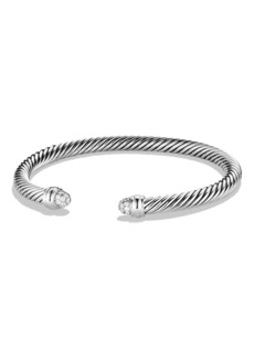 David Yurman Cable Classics Bracelet with Diamonds, 5mm