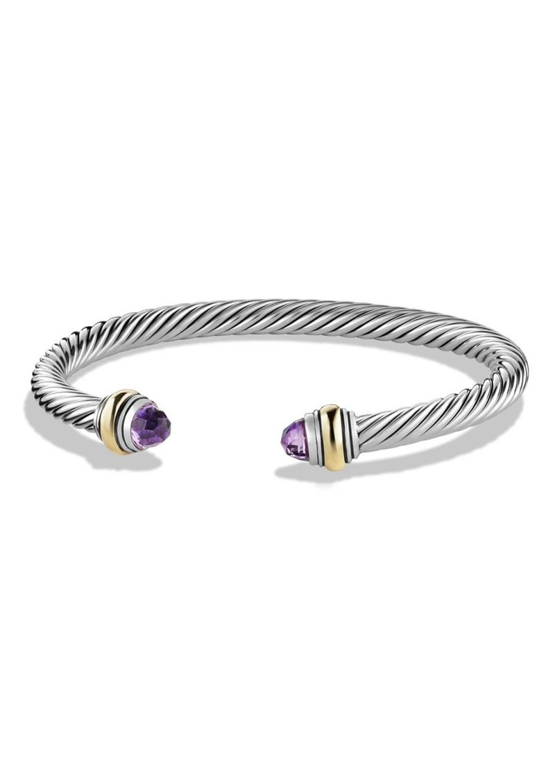 David Yurman David Yurman Cable Classics Bracelet With Semiprecious