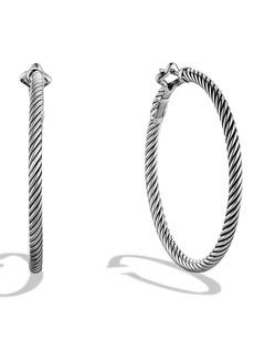 David Yurman 'Cable Classics' Large Hoop Earrings