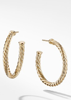 David Yurman Cable Loop Hoop Earrings