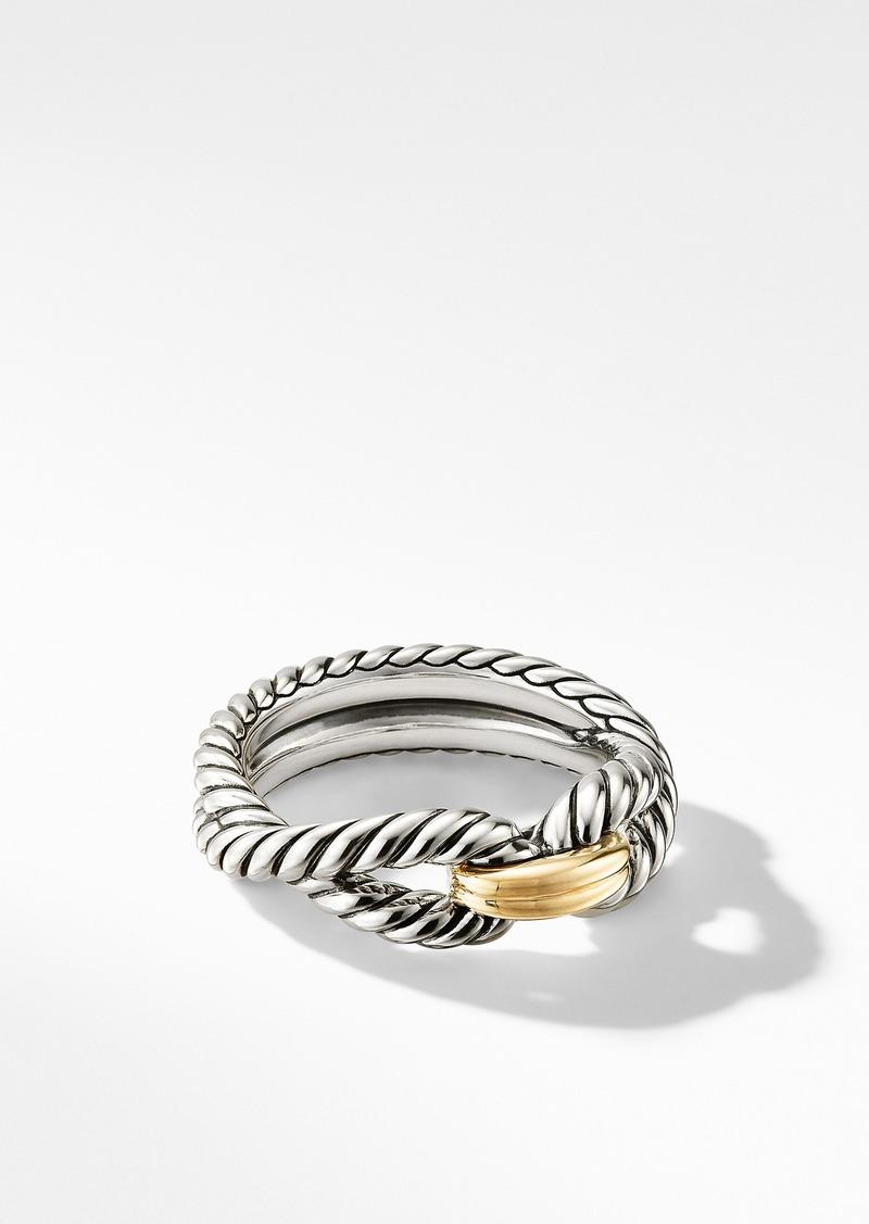 David Yurman Cable Loop Ring with 18K Gold