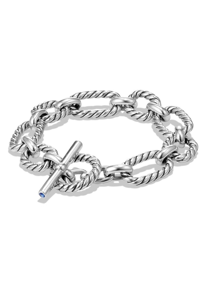 David Yurman David Yurman Chain Cushion Link Bracelet