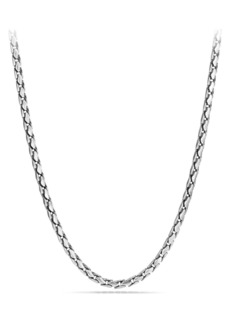 David Yurman 'Chain' Small Fluted Chain Necklace, 5mm