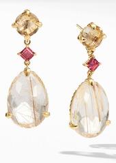 David Yurman Chatelaine® Drop Earrings in 18k Yellow Gold