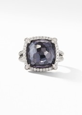 David Yurman Chatelaine® Pavé Bezel Black Orchid Ring