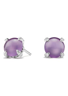 David Yurman Chatelaine® Stud Earrings with Gemstone & Diamond