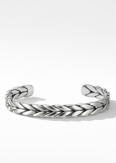 David Yurman Chevron Woven Cuff Bracelet