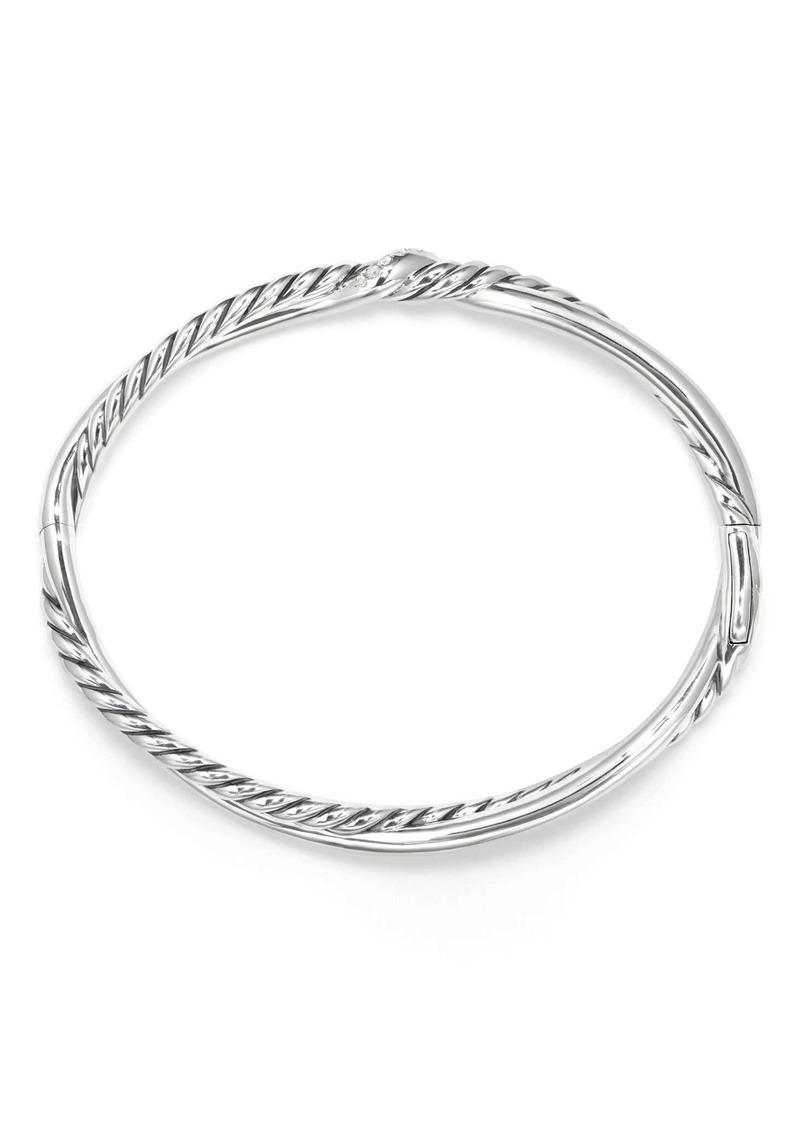 David Yurman Continuance Small Station Bracelet with Diamonds