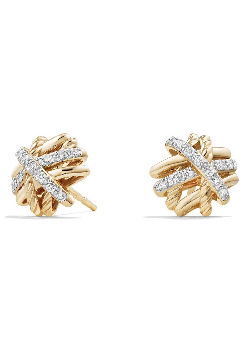 earrings diamond online gold en stud gemstone jewellery