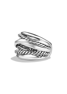 David Yurman 'Crossover' Wide Ring