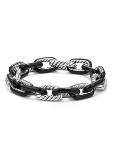 David Yurman DY Madison® Large Enamel Chain Bracelet
