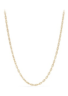 David Yurman DY Madison Thin Chain Necklace in 18K Gold