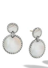David Yurman Elements Double Drop Earrings with Pavé Diamonds