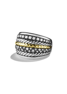 David Yurman 'Midnight Mélange' Ring with Diamonds