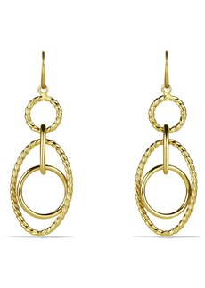 David Yurman 'Mobile' Small Link Earrings in Gold