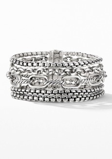 David Yurman Multi-Row Chain Bracelet