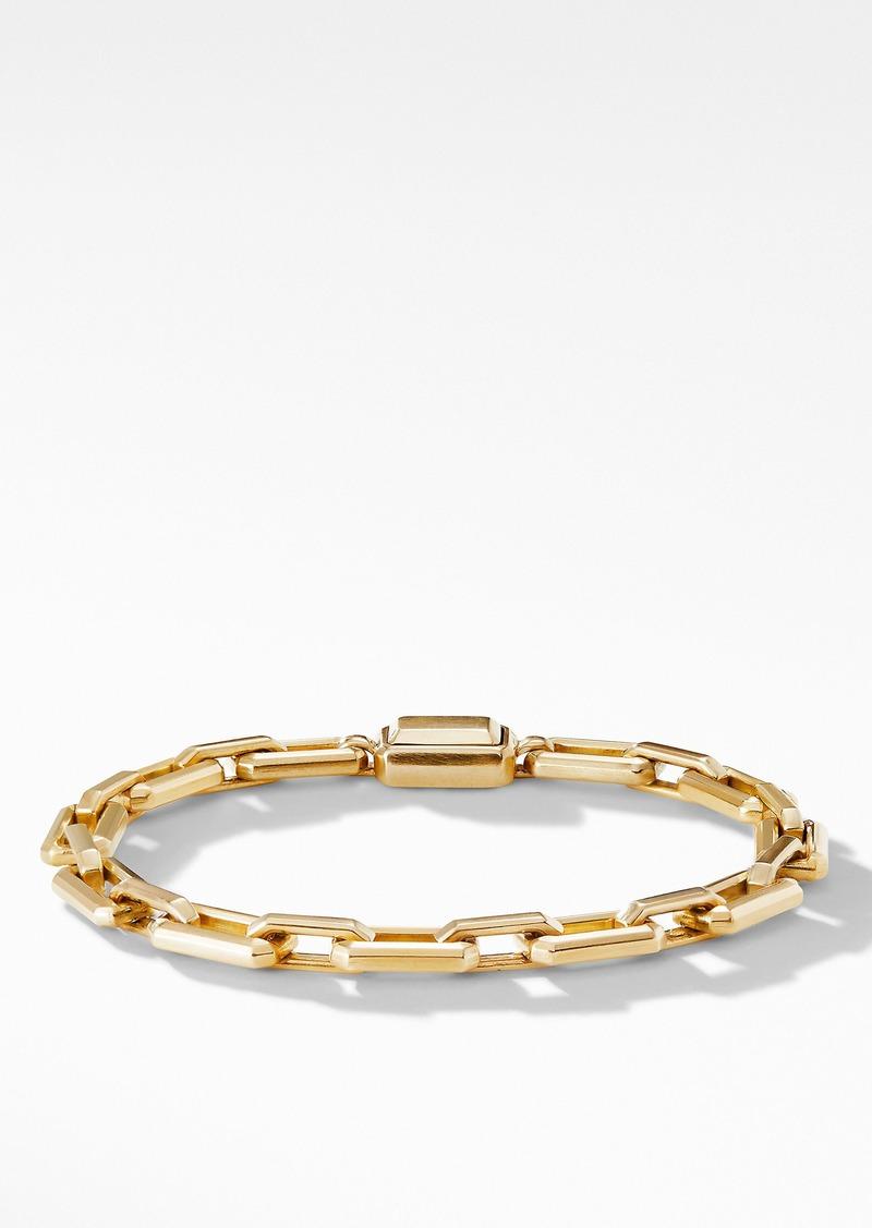 David Yurman Novella Chain Bracelet in 18K Yellow Gold