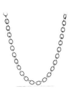 David Yurman 'Oval' Large Link Necklace
