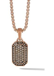 David Yurman Pavé Diamond Pendant