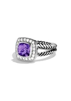 David Yurman Petite Albion Gemstone & Diamond Ring
