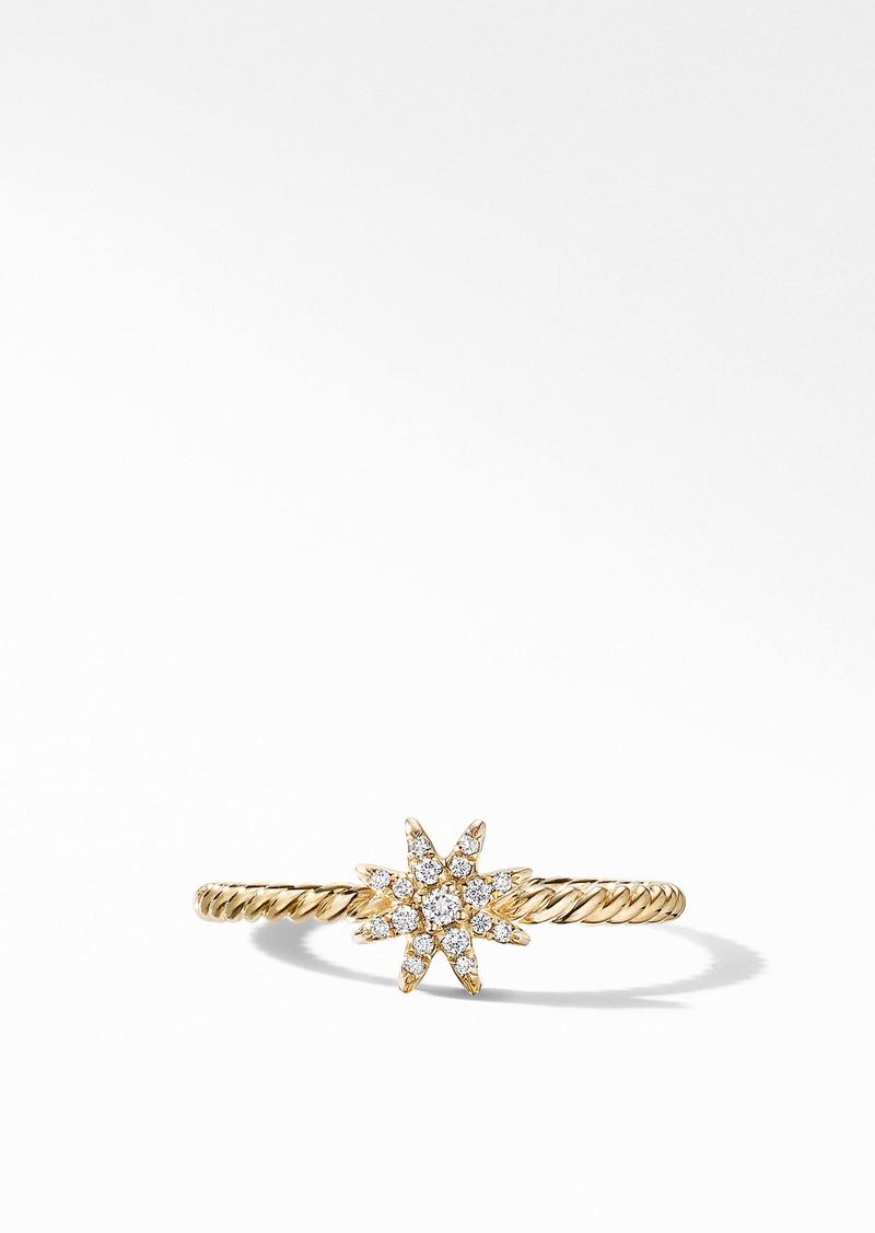 David Yurman Petite Starburst Diamond Ring