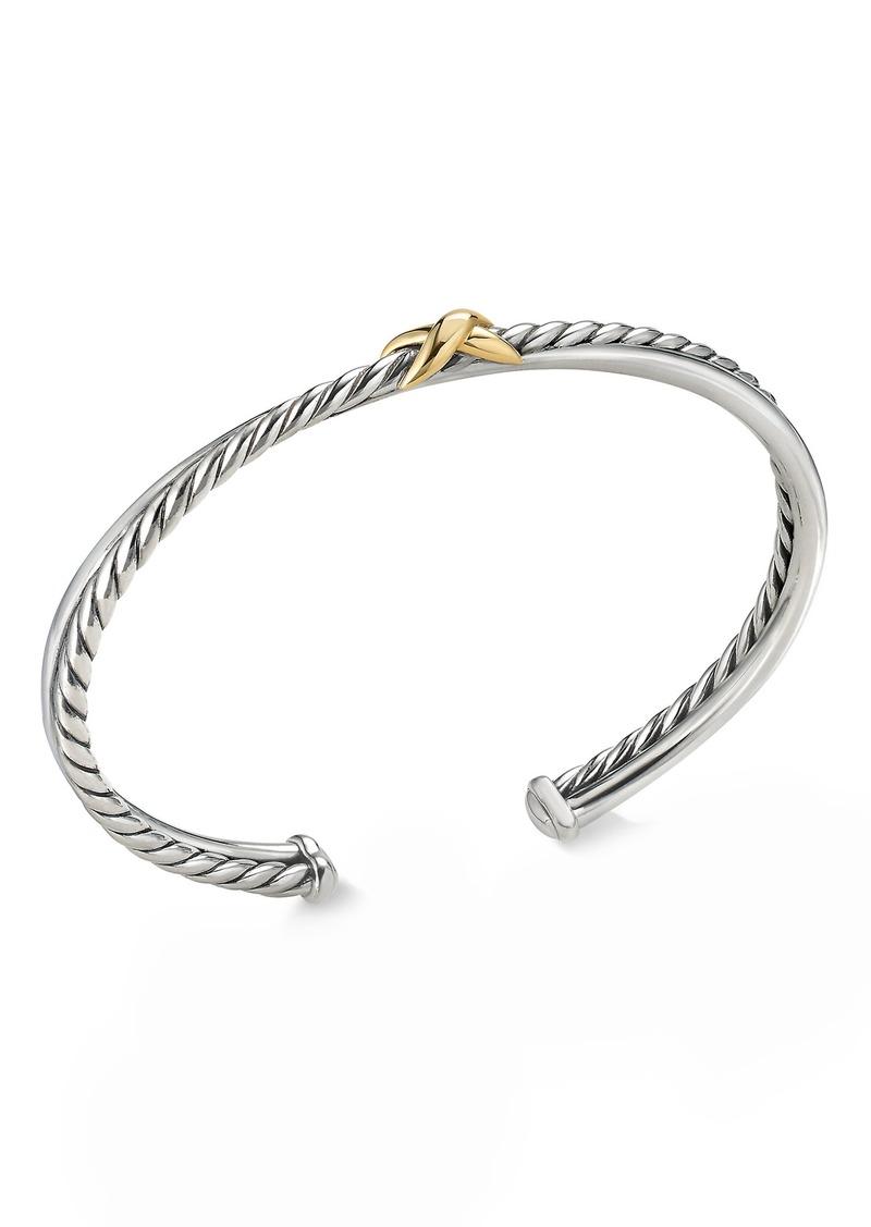 David Yurman Petite X Cuff Bracelet
