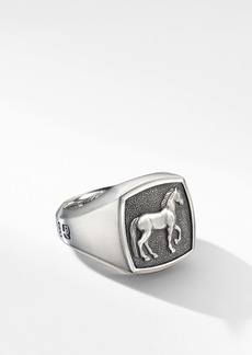 David Yurman Petrvs® Horse Signet Ring