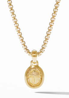 David Yurman Petrvs® Small Scarab Pendant in 18K Gold