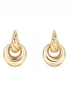 David Yurman Pure Form® Drop Earrings in 18K Yellow Gold