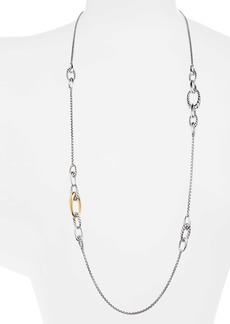 David Yurman Pure Form Graduated Chain Station Necklace