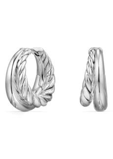 David Yurman Pure Form Hoop Earrings, 25.5mm