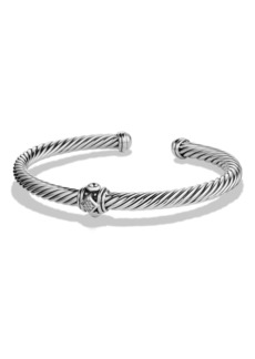 David Yurman Renaissance Bracelet with Diamonds, 5mm