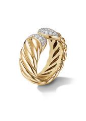 David Yurman Sculpted Cable Ring