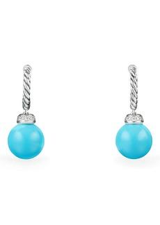 David Yurman Solari Hoop Earrings with Diamonds