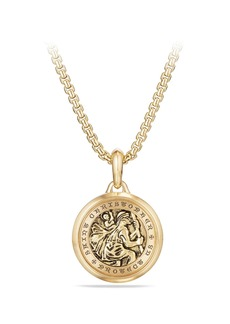 David Yurman St. Christopher Amulet