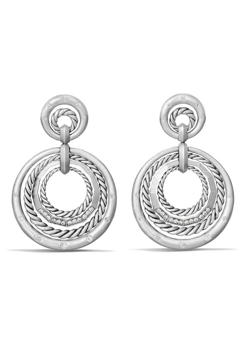 e225673713c3f0 David Yurman David Yurman 'Stax' Diamond Drop Earrings | Jewelry