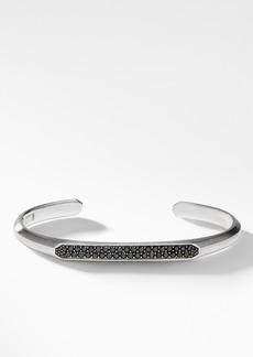 David Yurman Streamline® Cuff Bracelet with Black Diamonds