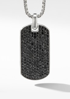 David Yurman Streamline® Tag with Black Diamonds