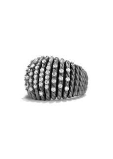 David Yurman 'Tempo' Ring with Diamonds