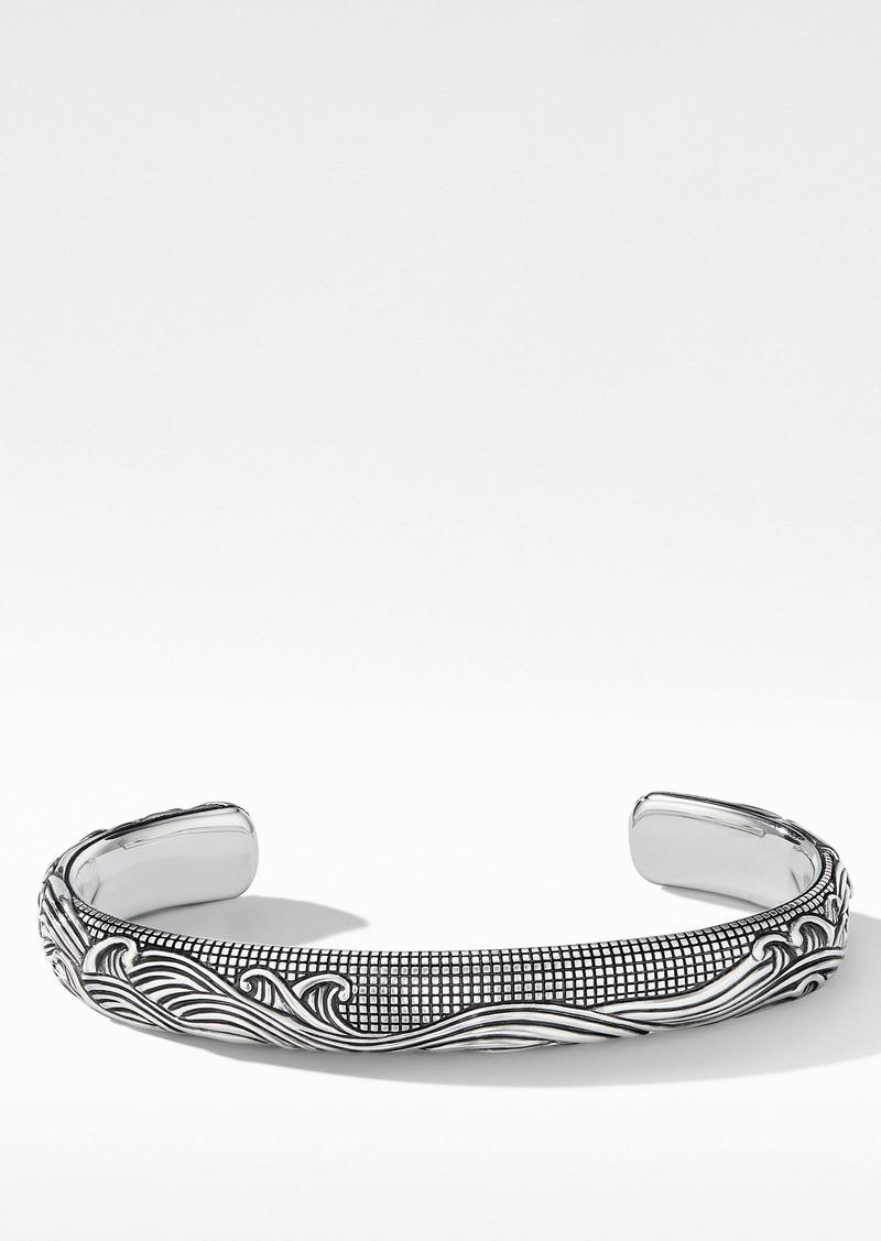 David Yurman Waves Cuff Bracelet